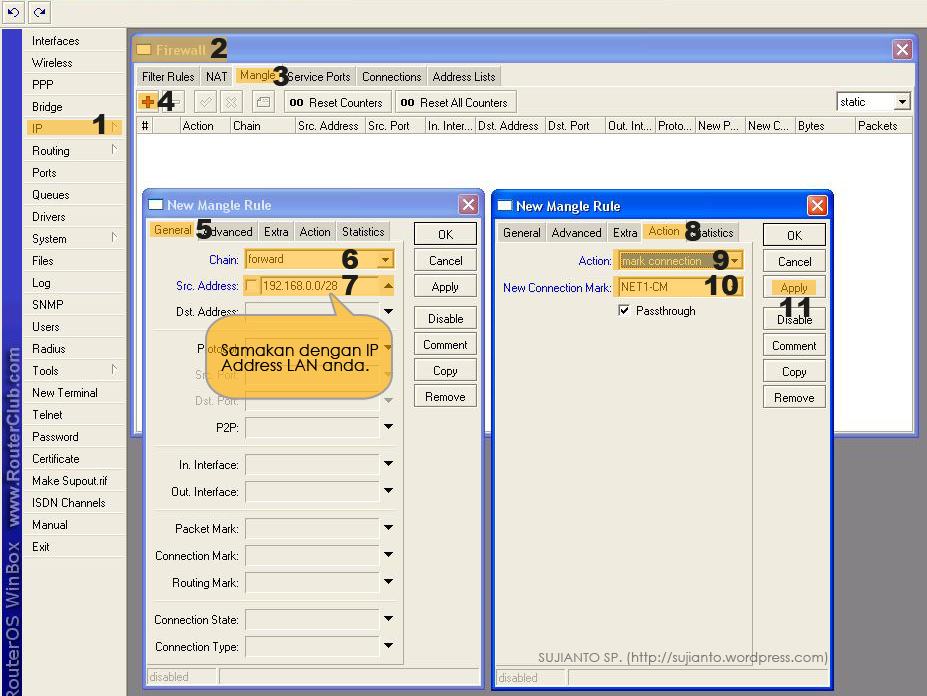 Bandwidth Manager Dengan PCQ Di Mikrotik | Sujianto!
